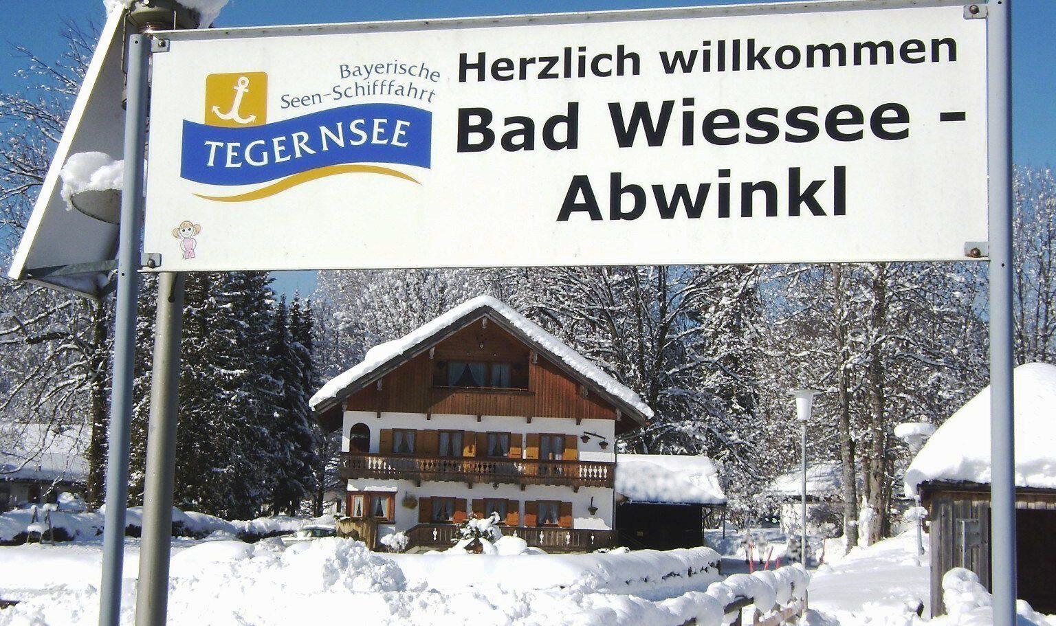 Anlegestelle Abwinkl am Tegernsee