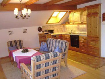 Küche Ferienwohnung 3